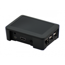 Case - Plastic box Raspberry Pi RB-BLACK / RPI-BOX14