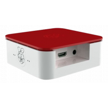Case DesignSpark Quattro for Raspberry Pi B+/2/3, red/white / RPI-BOX29