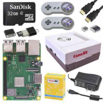 CanaKit Retro Gaming Kit, Raspberry Pi 3 B +, игровые аксессуары