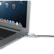 """Security lock Maclocks for MacBook Pro Retina 15 """", 1.8 m wire cable, 2 keys, silver / SH-354"""