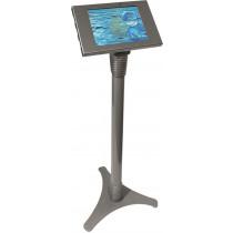 Floor stand Maclocks Adjustable Galaxy Tab3 98cm-113cm height, locking hole, silver / SH-511