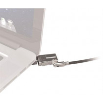 "Security lock bracket Maclocks for MacBook Air 11 "", 1.8 m wire cable, 2 keys, cable lock, silver / SH-521"