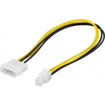Adapter cable DELTACO 4 pin to ATX12V, 0.3m  / SSI-40