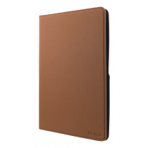 """DELTACO universal tablet case, 9/10.1"""", integrated stand, 360 degree rotatable, brown / TPF-1222"""