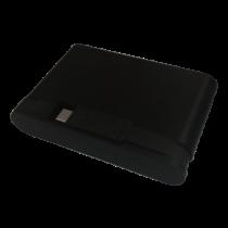 USB-C hub DELTACOIMP USB 3.1, 100W, BC 1.2, 2xUSB-A, 2xUSB-C, black / USBC-HUB106