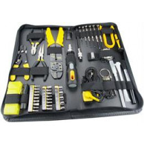 Tool kit for computers and accessories with 58 parts DELTACOIMP black / yellow  / VK-254